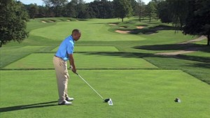 Correct Golf Swing Path