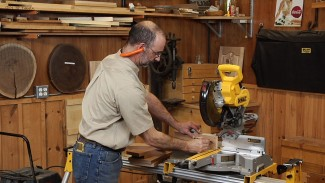 Set Up Your Compound Miter Saw