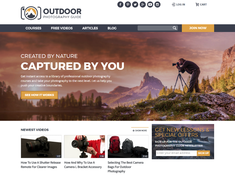 Outdoor Photography Guide >>