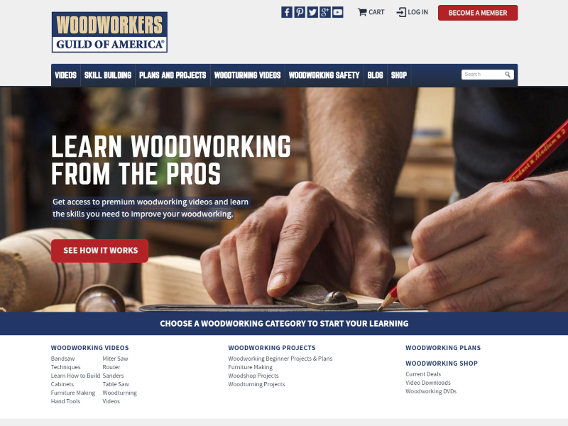 Woodworkers Guild of America >>