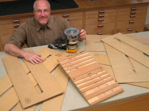 Cutting Dadoes Using A Router And Template
