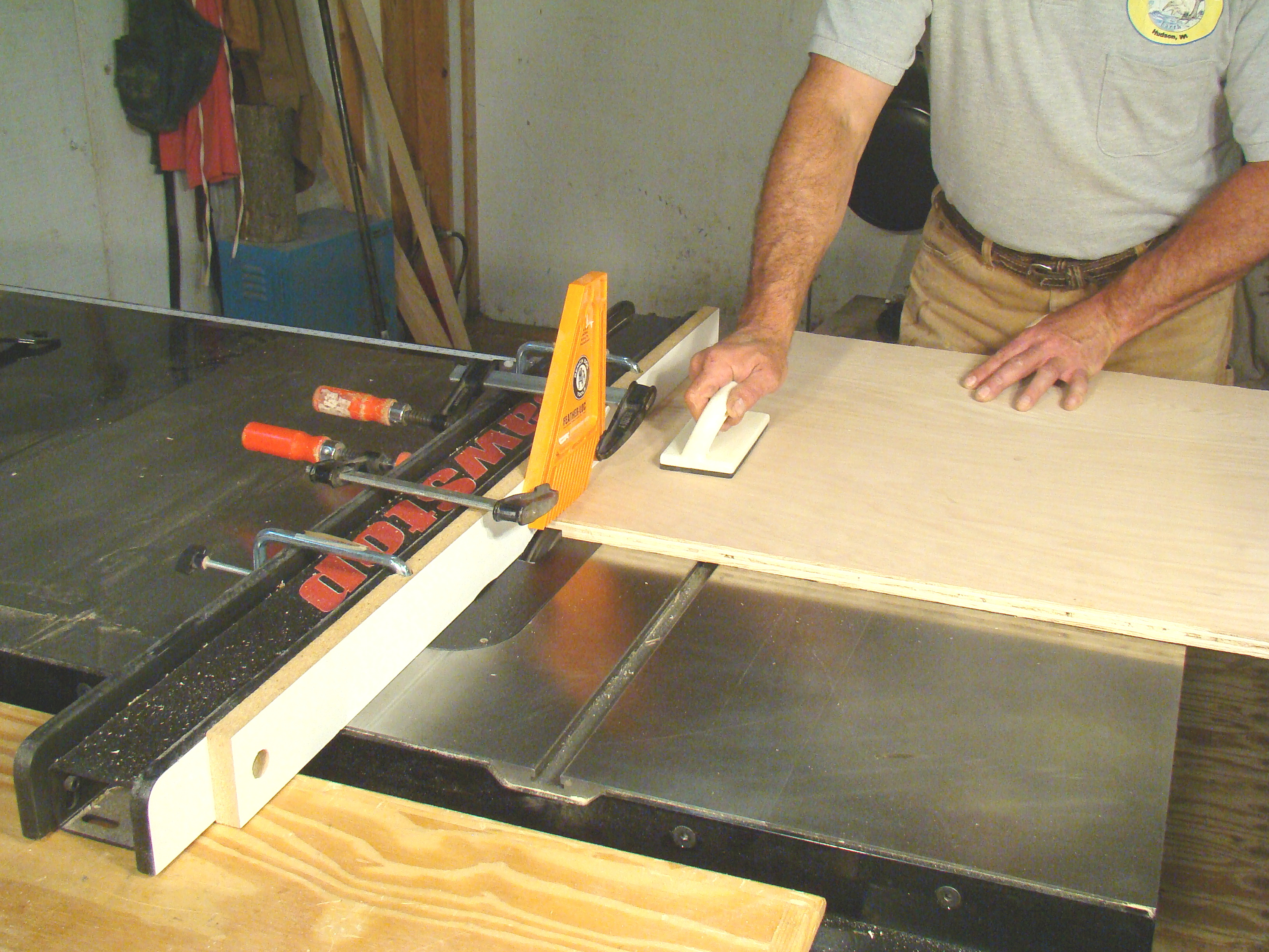 Dadoes On The Table Saw
