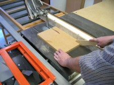 Table Saw Fence Setting