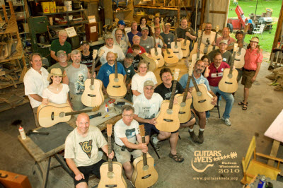 Guitars for Vets Build a Success