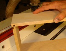 Drawer Joinery Using a Slot Cutter