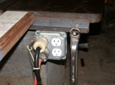 Table Saw Plug Shop Tip