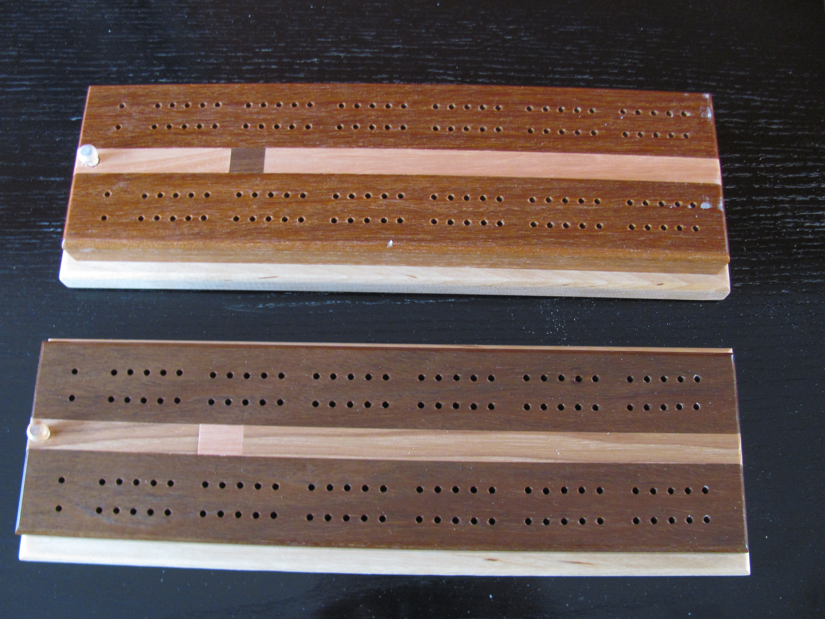 It is an image of Genius Printable Cribbage Boards