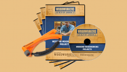 Weekend woodworking 4-DVD set + hearing protection D1024Q
