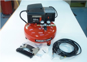 Reviewing the Porter Cable Pin Nailer and Pancake Compressor Combo