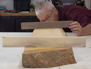 Face Joint wide boards