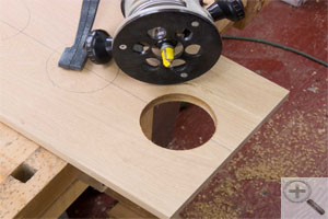 Make Any Size Hole Without A Circle Cutter