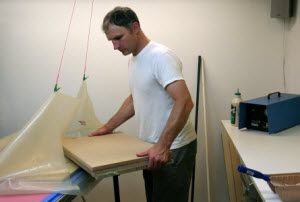 Veneering with a Vacuum Bag System