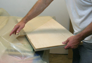 Veneering with a Vacuum Bag System