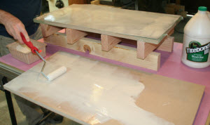 Veneering Woodworking Projects with Clamps