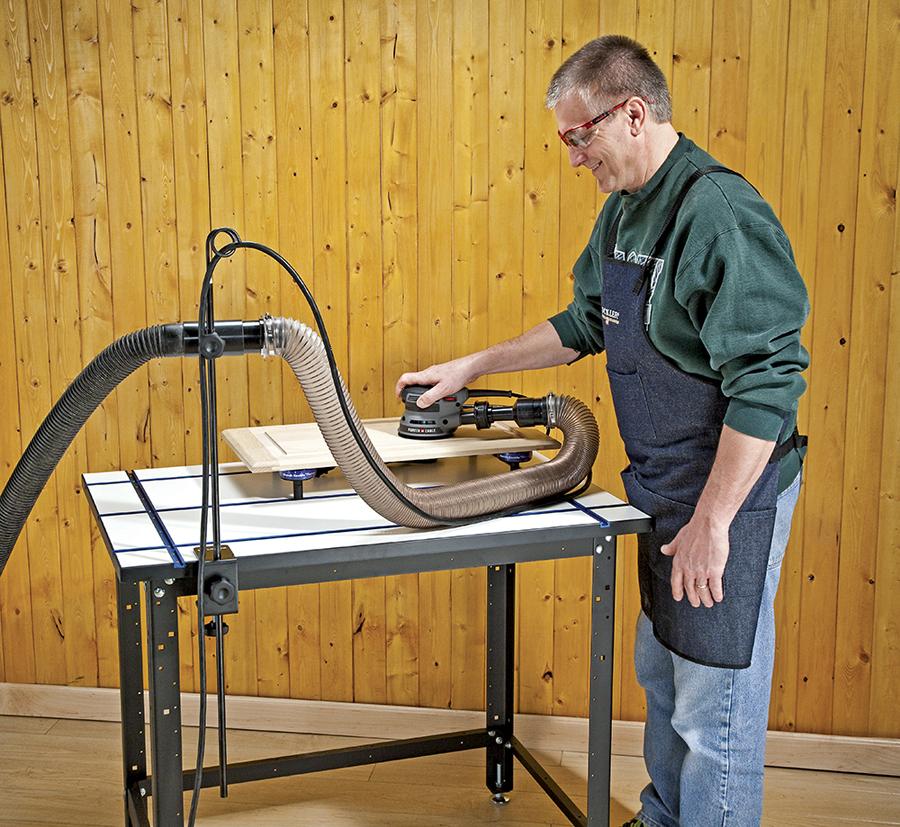 Rockler cord and hose holder