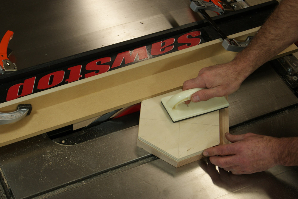 pattern cutting on a table saw overview