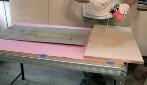 Veneering Woodworking Projects with Contact Cement