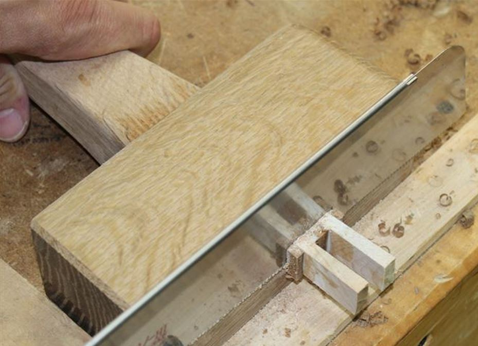 joiners mallet - cut the handle flush