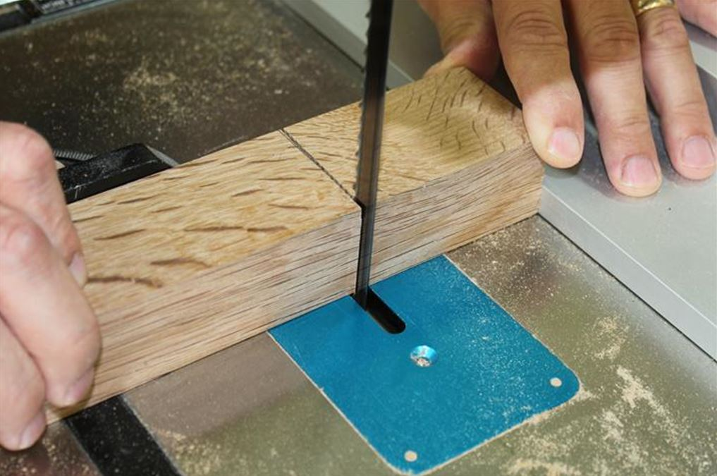 joiners mallet - establish a shoulder line