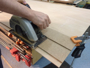 Shop Made Circular Saw Guide