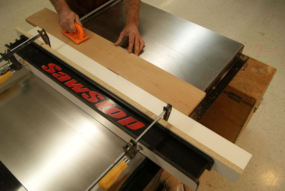 Jointing-on-the-table-saw-making-the-cut