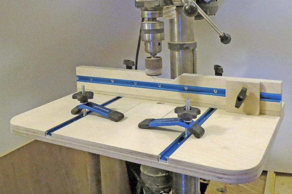 Drill-press-fixture