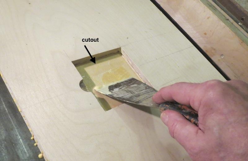 Scrape-away-dried-glue-before-it-hardens