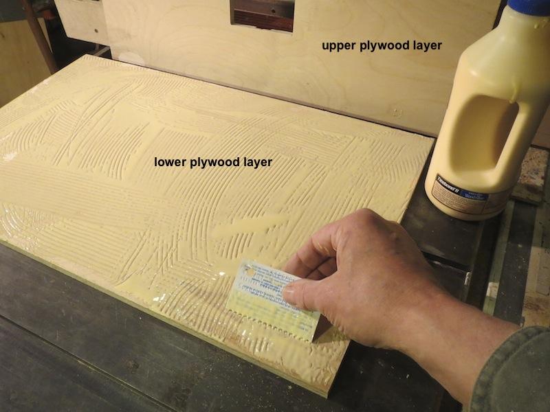 Spread-the-glue-with-a-card