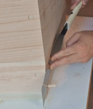 Using Japanese Handsaws