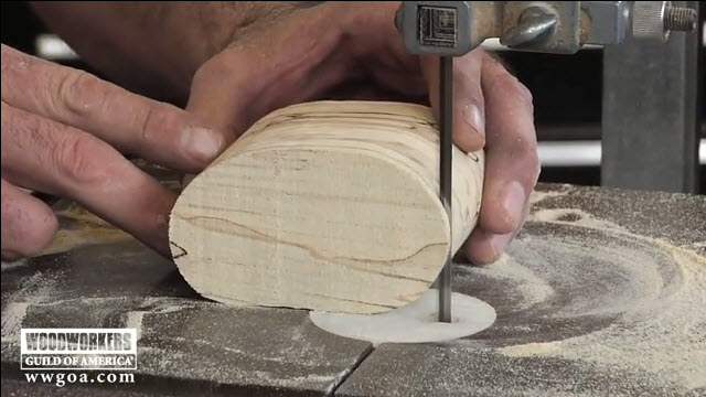 How to Use a band Saw with small blades