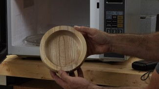 Drying Wood in a Microwave