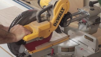 How to Cut Plywood on a Sliding Miter Saw