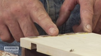 Paring Dovetail Joints with a Block Plane