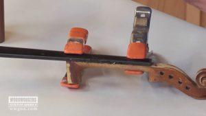 Repairing a Finger Board on a Violin