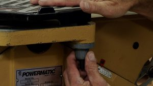 Jointer Guard Spring Tension