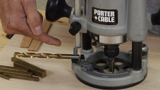 Using a Plunge Router: Setting Bit Depth