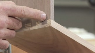 Porter Cable 4212 Dovetail Jig: Half Blind Test Cuts