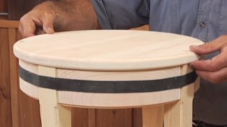 How to Make a Round Stool