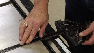 Miter Gauge Alignment Trick