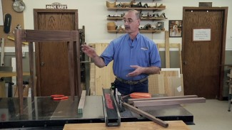 Making Book Matched Furniture Legs