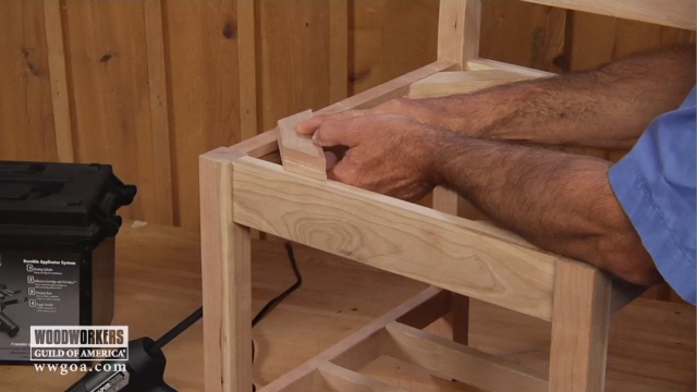 How To Install Corner Blocks Woodworkers Guild Of America