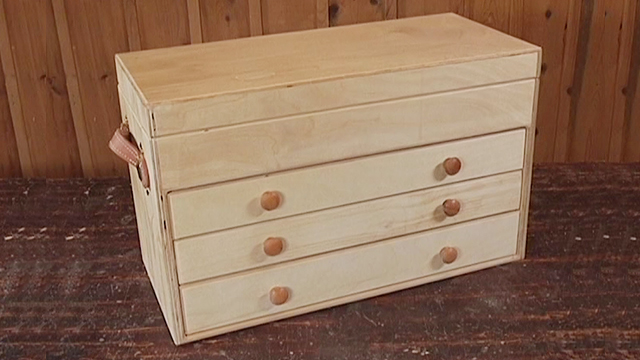 Build A Classic Wooden Tool Chest Plans Amp Video