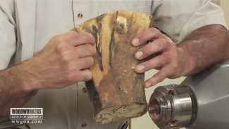Turning a Bowl Made from Crotch Wood