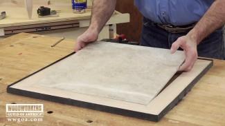 Build a Tiled Table- Part 2 Frame the Tile