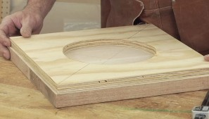 How to Dish Out a Stool Seat - Woodworking Video