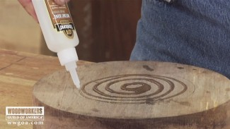 Using CA Glue for Gluing Wet Wood
