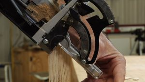 Using a Biscuit Joiner: Reinforcing a Miter