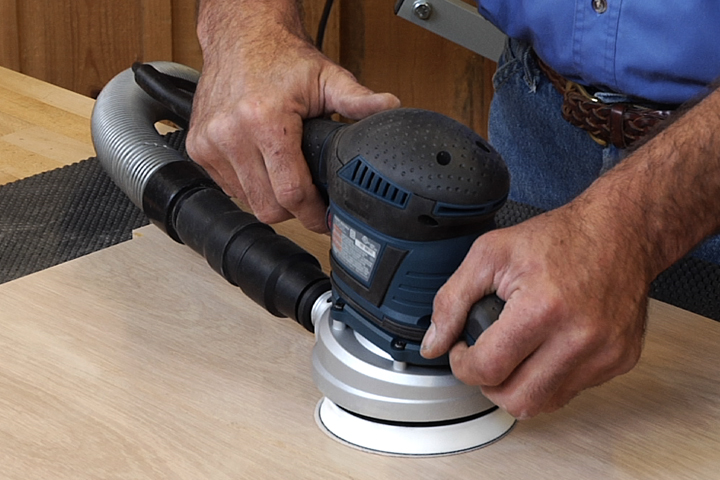 Learn how to use a sander