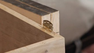 Cutting a Slot for Slot Hinges