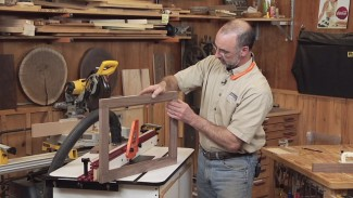 How to Make Cabinet Doors - Cope and Stile Doors